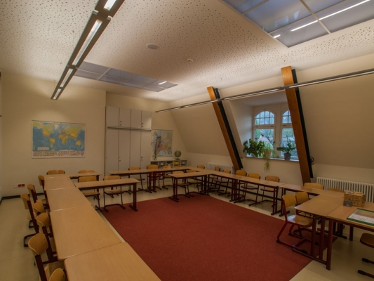 Westschule, Dachgeschossausbau