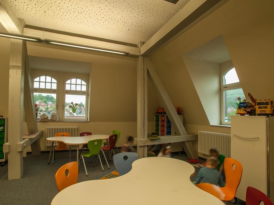 westschule dachgeschossausbau sittig architekt jena. Black Bedroom Furniture Sets. Home Design Ideas
