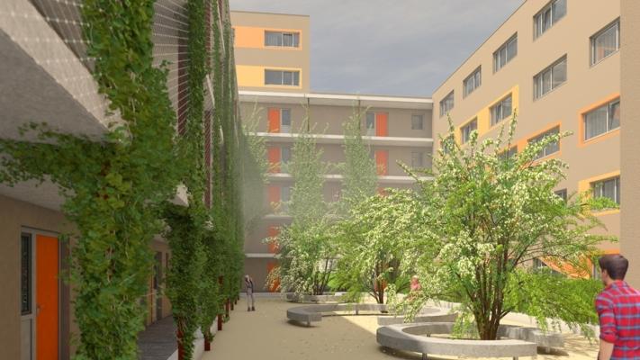 Wohnhaus für studentisches Wohnen